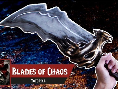 D.I.Y - Como fazer as Blades of Chaos de God of War - Kmaker Tutorial