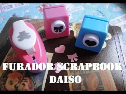 Furador Scrapbook - Daiso