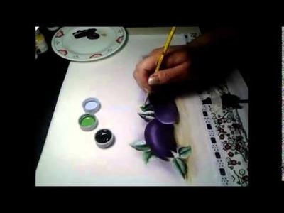 Pintando Beringelas - 1 parte