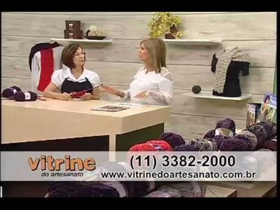 Peças em Tricô com Claudia Maria - Vitrine do Artesanato na TV
