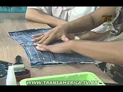 Tv Transamérica - Técnica imitação de jeans