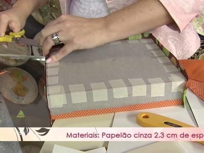 Aprenda a fazer uma linda caixa gourmet com o tema de páscoa!