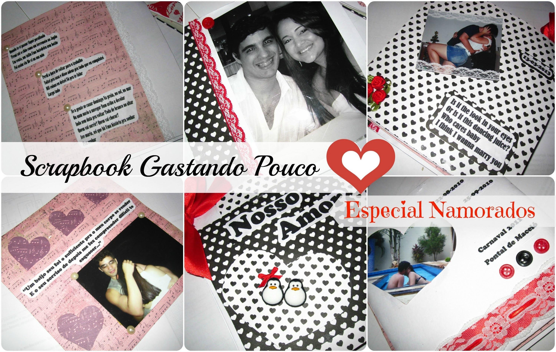 Artesanando - Scrapbook Gastando Pouco