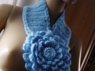 Cachecóis em croche de 2008.2011-crochet scarves, Häkelschal