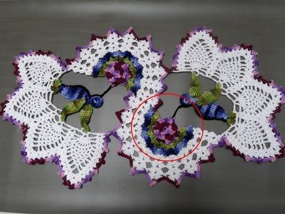 Centro de Mesa Beija-Flor: Parte 1 de 5 - Flor