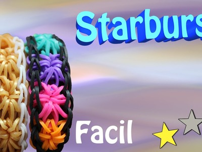 Como Fazer a Pulseira Starburst
