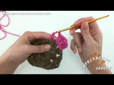Como unir motivos quadrados no croche - Aprendendo Crochê