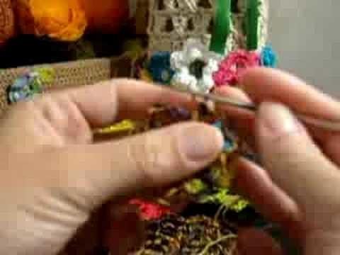 Croche - Roseta Circular