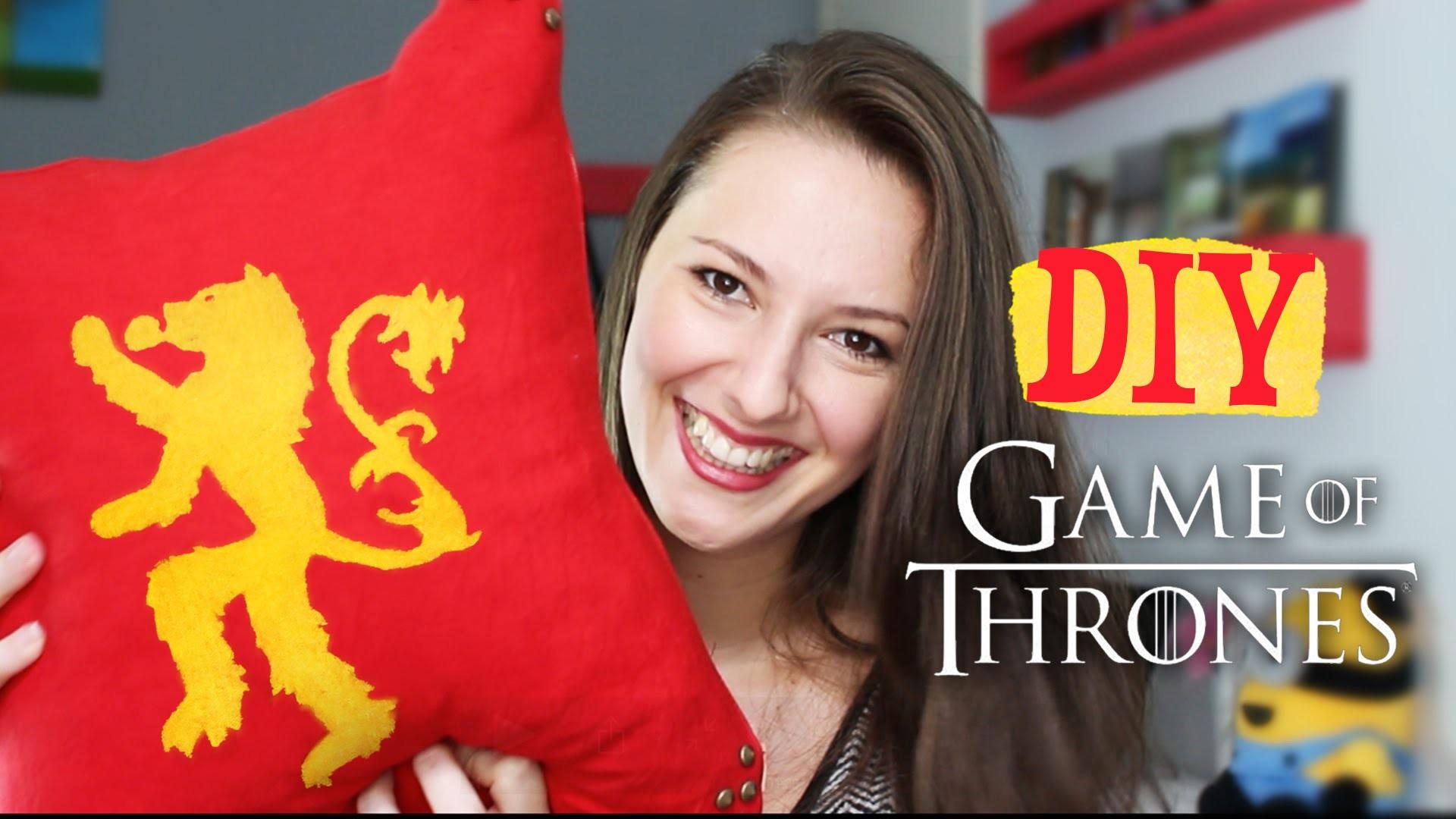 DIY - Almofadas Game of Thrones