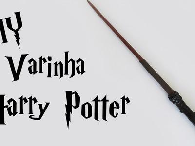 DIY: Como Fazer a Varinha do Harry Potter (Harry Potter Wands)