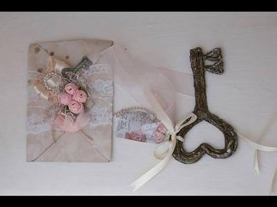 DIY: Lembrancinhas de casamento chave vintage.