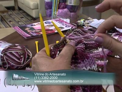 Mulher.com 18.06.2013 Vitória Quintal - Cachecol cetim Parte 2.2