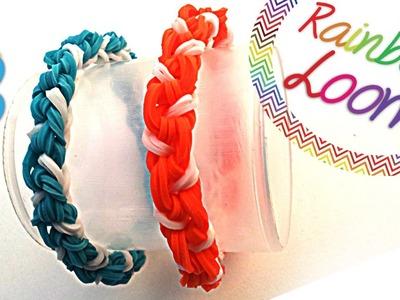 Rainbow Loom - Pulseira Torcida