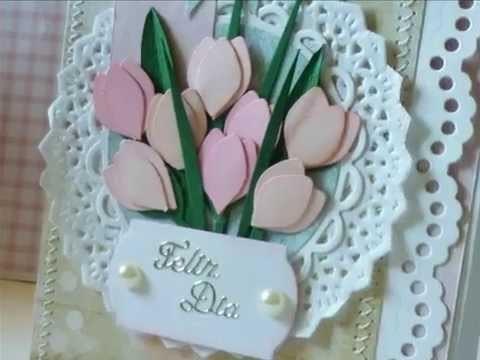 Tulipas de Papel. Paper Tulips