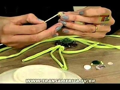 Tv Transamérica - Bracelete de tecidos