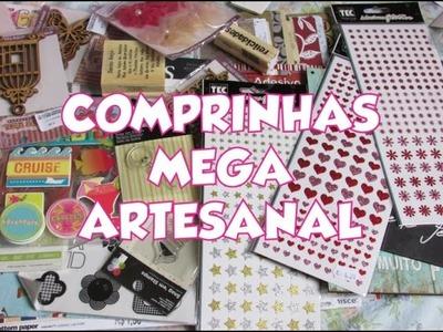 Mega Artesanal - Comprinhas Scrapbook