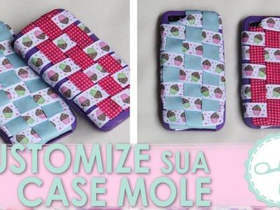 DIY Case Celular com Fitas (Case Mole) - wFashionista