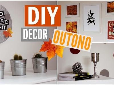 4 DIY's ♡ Decor de Outono