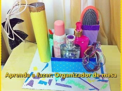 DIY:  Aprenda a fazer um organizador de mesa ! How to make ♥