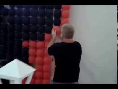 Montando Suporte para painéis e cortinas festas