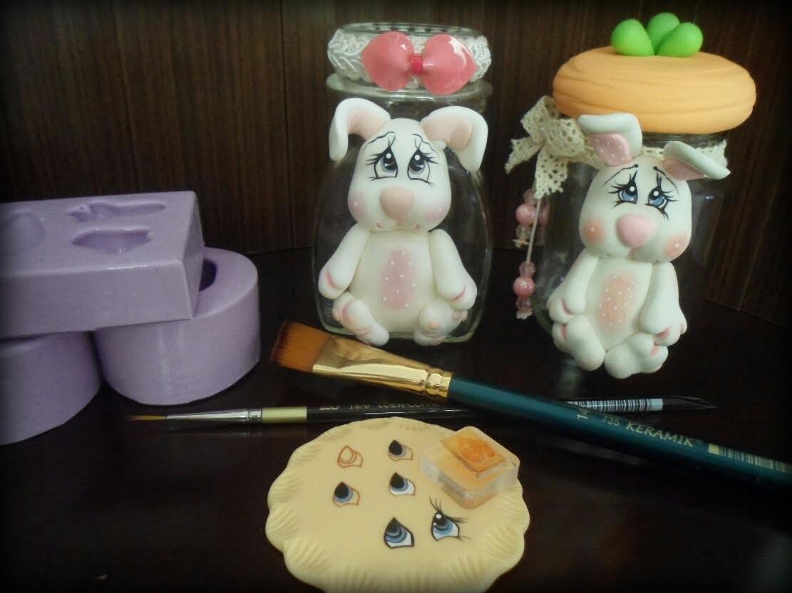 Biscuit Forminhas Pincel keramik no TVI mulher