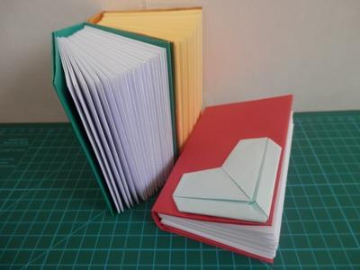 Caderno - Origami - Passo a passo