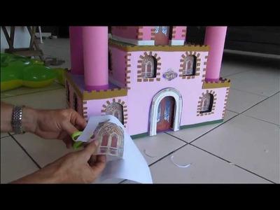 Como fazer castelinho de princesa