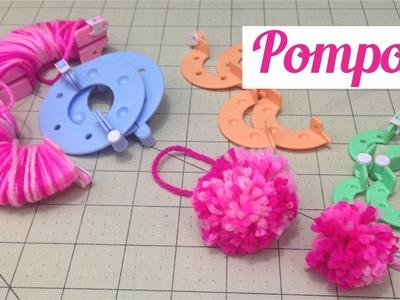 Como Fazer Pompons de lã