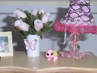 Como fazer um abajur para boneca Monster High, Pullip, Barbie e etc