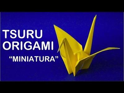 Como fazer um Mini Pássaro de Origami - Dobradura de Papel - Papiroflexia