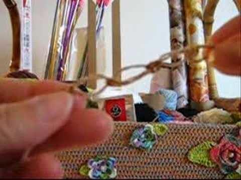 Crochê Tradicional - Guia de Pontos - Ponto Segredo