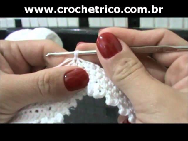 Crochet - Calcinha Branca - Parte 06.08