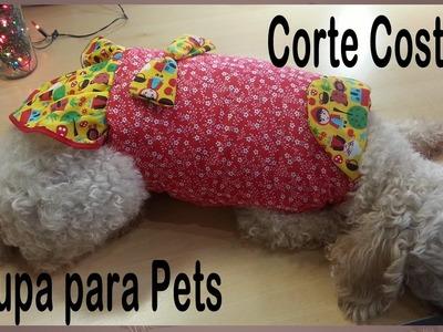 DIY - Roupinha para Cachorro - Roupa para Pet - Patchwork