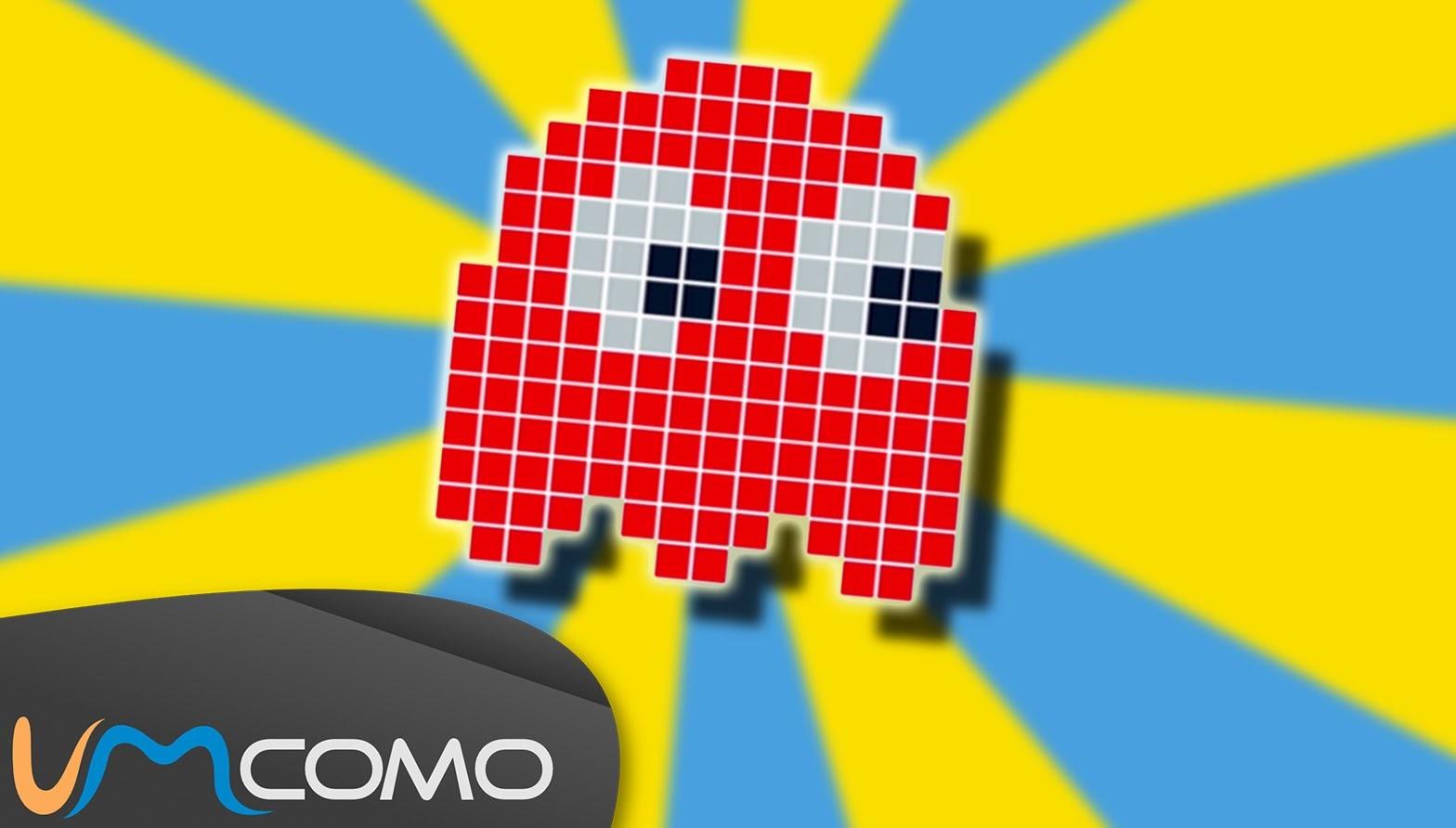Fantasma Vermelho do Pacman - Perler. Hama Beads Tutorial