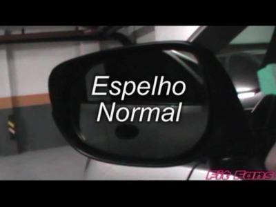 Honda New Jazz -Fit Fans DIY #01 - Aquaclean Mirror (Retrovisor)