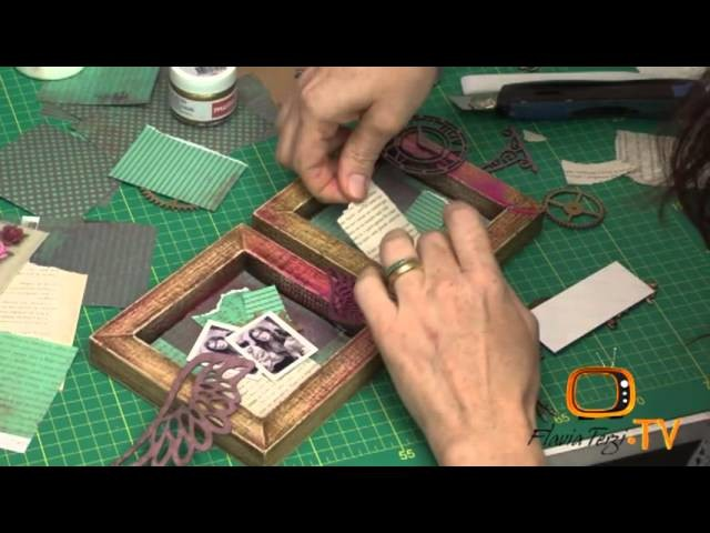 Mini Quadros Vintage EP9 - Flavia Terzi TV