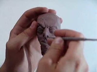 Modelagem de cabeça. Head Sculpture part 03