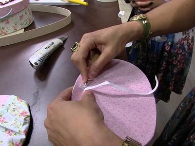 Mulher.com 01.07.2014 - Maleta Oval Cartonagem por Ana Paula Viegas - Parte 2