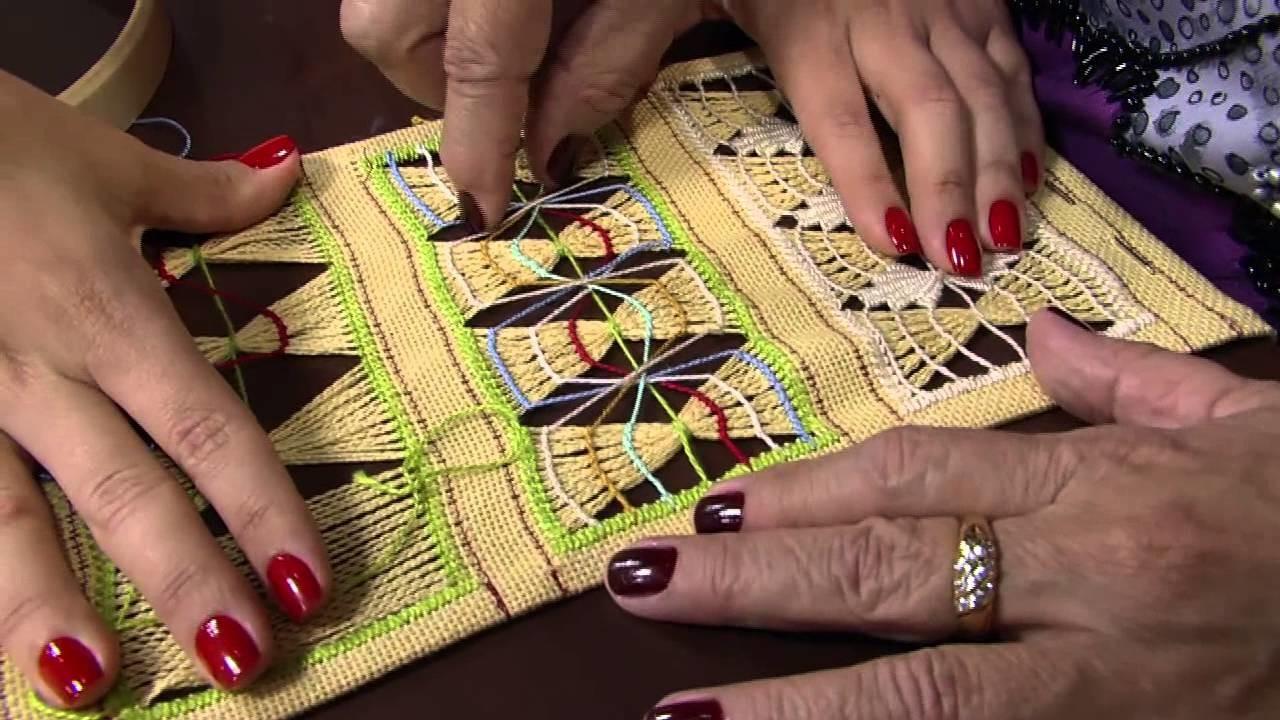 Mulher.com 09.10.2013 Bete Alves - Bordado com Bainha Aberta P 2.2