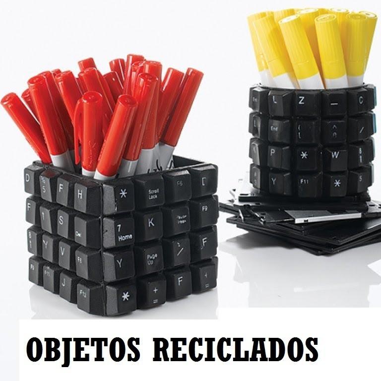 Objetos Reciclados IDEAS para RECICLAR objetos o muebles.