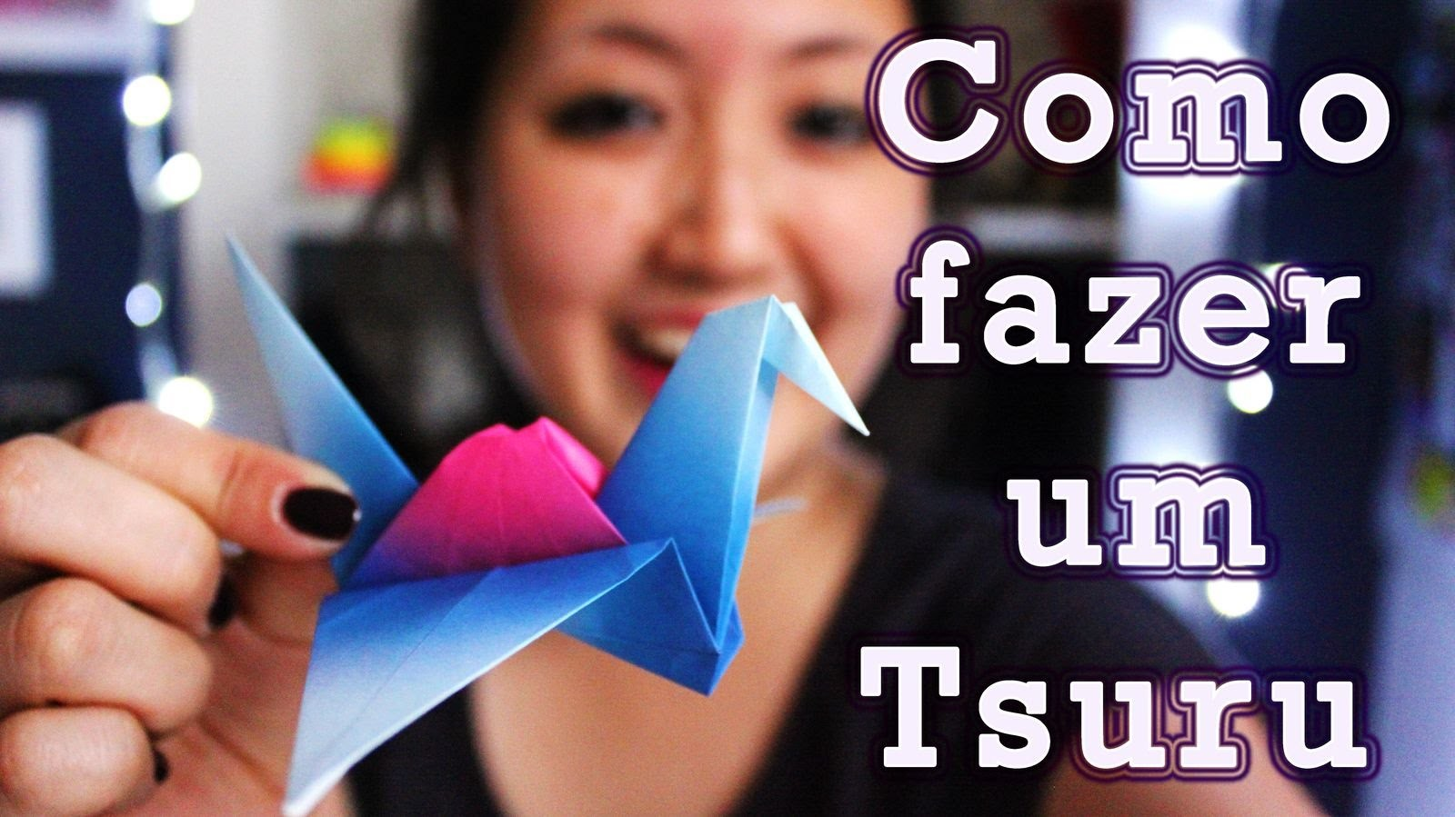 Origami: Como Fazer um Tsuru