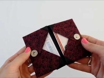 Origami Porta Cartão - Card Case