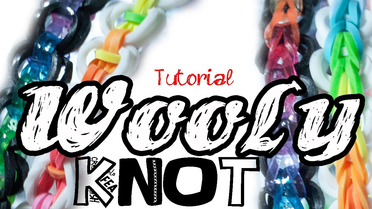 Pulseira WOOLY KNOT - Tutorial - PT.PT PT.BR
