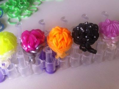 Pulseiras de Elásticos Rainbow Loom: Como fazer um anel com elásticos