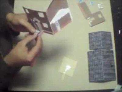 Recortar e Montar Papercraft - Miniatura HS002 - Video 3 - Montando.wmv