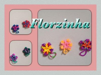 Rainbow Loom - Florzinha | Criativa