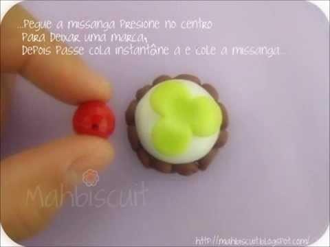 Tutorial Cupcake pingente