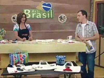 ARTE BRASIL - ISAMARA CUSTÓDIO E DANIELA ZEMETEK (09.01.2012)