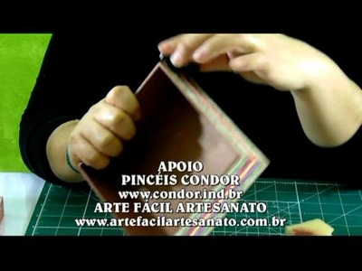 Caixa em scrap decor -  parte 2 | Artes Andréa Prado