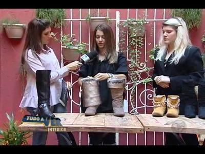 Customização de Botas - Consultora de Moda Karla Alves